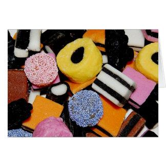 Tarjeta Dulces para mis 3 dulces