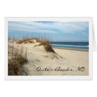 Tarjeta Dunas de Outer Banks