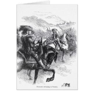 Tarjeta Duque de Monmouth que avanza en Taunton