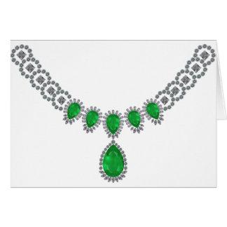 Tarjeta Duquesa de las esmeraldas de Windsor