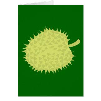 Tarjeta ¡Durian la fruta hedionda! NP