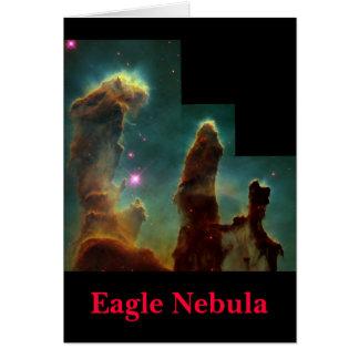 Tarjeta eagle4Finished, nebulosa de Eagle