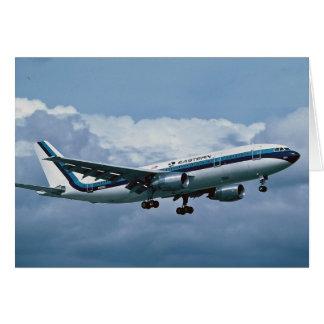 Tarjeta EASTERN AIRLINES Airbus A300
