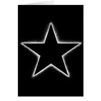 Tarjeta Eclipse de la estrella