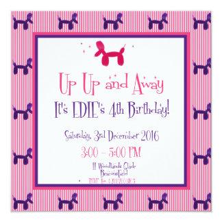 Tarjeta El 4to cumpleaños de Edie