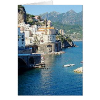 Tarjeta El Amalfi Vista