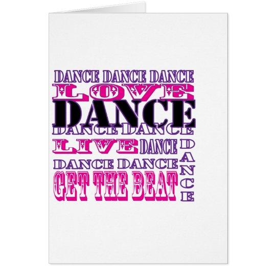 Tarjeta El amor de la danza vivo consigue a chicas del
