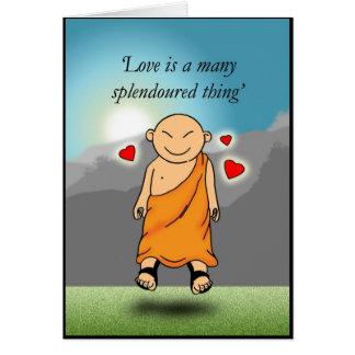 Tarjeta El amor es muchos cosa splendoured