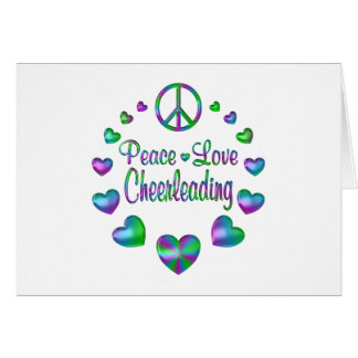 Tarjeta El animar del amor de la paz