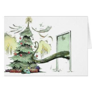 Tarjeta El árbol de navidad de Cthulhu
