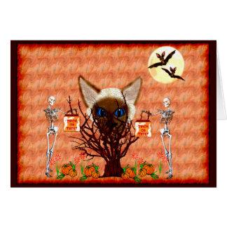 Tarjeta El árbol del gato