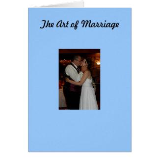 Tarjeta El arte de la boda