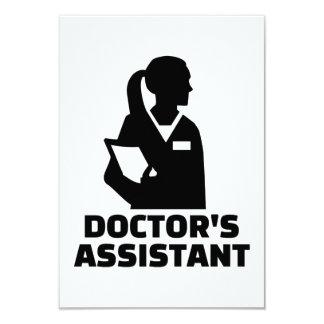 Tarjeta El ayudante del doctor