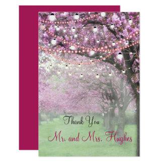 Tarjeta El boda temático de la primavera de la flor de