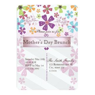 Tarjeta El brunch del día de madre invita