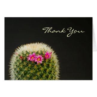 Tarjeta El cactus le agradece cardar