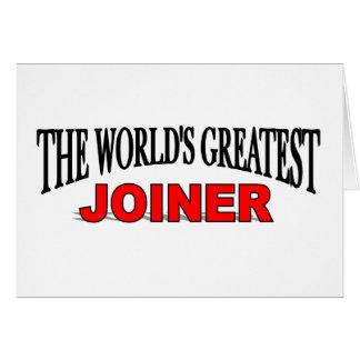 Tarjeta El carpintero más grande del mundo