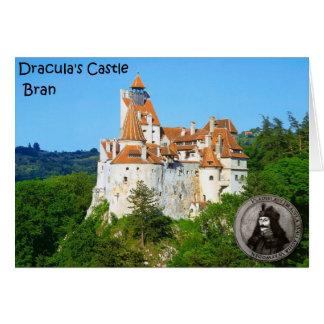 Tarjeta El castillo de Drácula, salvado