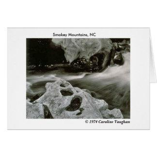 Tarjeta el cometa oscila 74, montañas de Smokey, NC, Ca