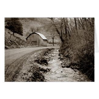 Tarjeta El condado de Cannon Backroad