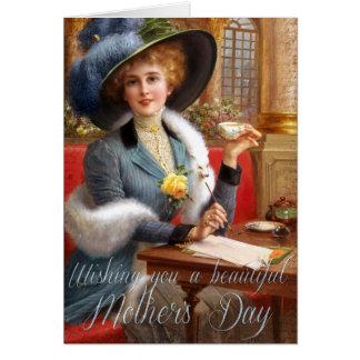 Tarjeta El día de madre hermoso de Falln
