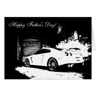 Tarjeta El día de padre de Nissan Skyline GT-r