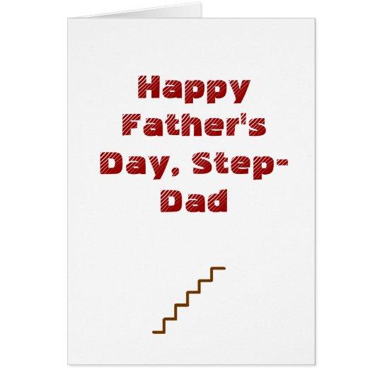Tarjeta El día de padre feliz, Paso-Papá