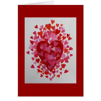 Tarjeta El día de San Valentín de Hapy