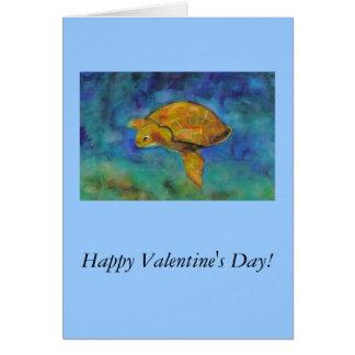Tarjeta ¡El día de San Valentín feliz!