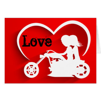 Tarjeta El día de San Valentín feliz del AMOR de los pares