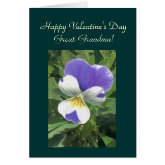 Tarjeta El día de San Valentín feliz, Gran-GrandmaTemplate