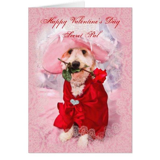 Tarjeta El día de San Valentín - PAL secreto - la