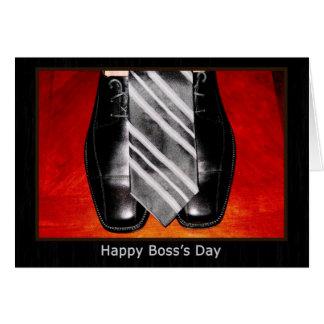 Tarjeta El día feliz de Boss
