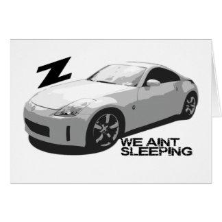 Tarjeta el dormir de 350Z Aint