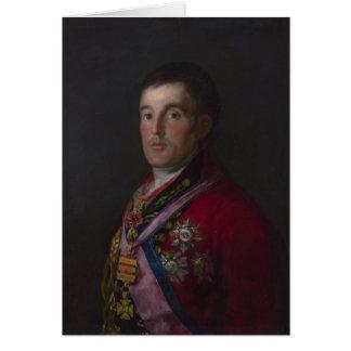 Tarjeta El duque de Wellington