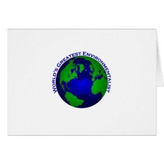 Tarjeta El ecologista más grande del mundo
