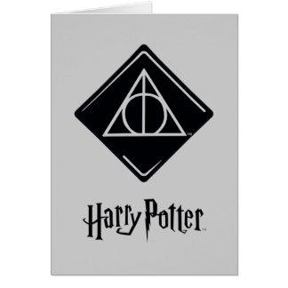 Tarjeta El encanto el | de Harry Potter mortal santifica