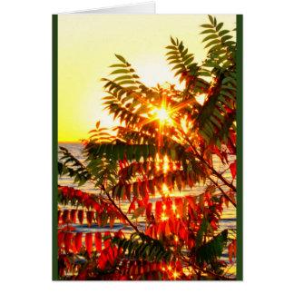 Tarjeta ¡El envío de navidad caliente desea su manera!