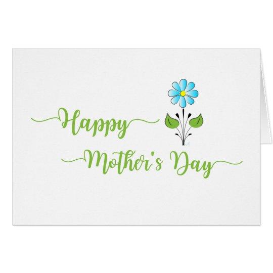 Tarjeta El ❤️ feliz del día de madre usted es el mejor