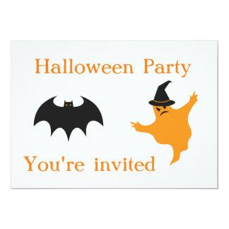 Tarjeta El fiesta de Halloween invita