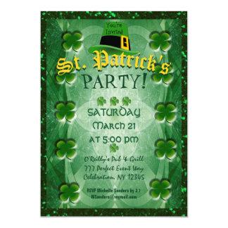 Tarjeta El fiesta de St Patrick