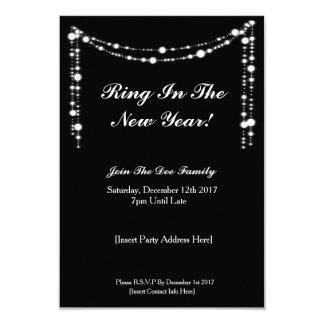 Tarjeta El fiesta elegante de NYE invita