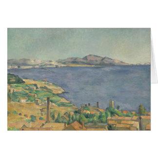 Tarjeta El golfo de Marsella visto de L'Estaque