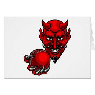 Tarjeta El grillo del diablo se divierte la mascota