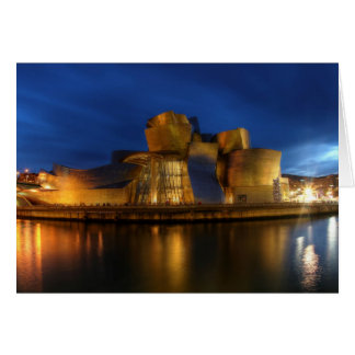 Tarjeta El Guggenheim - la Bilbao, España
