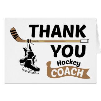 Tarjeta El hockey le agradece entrenar patines y el