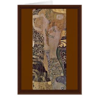 Tarjeta El Hydra de Klimt Gustavo