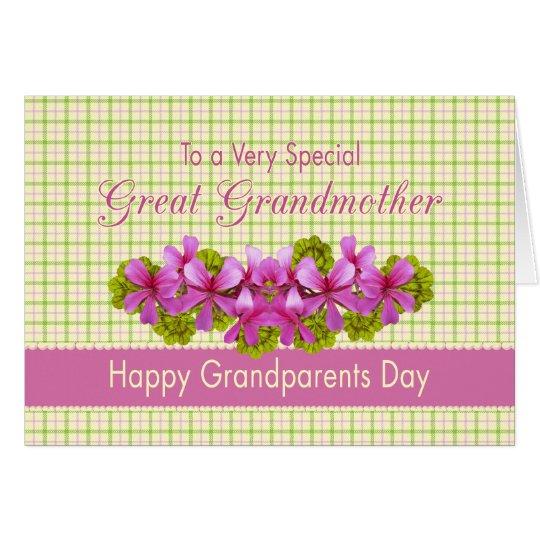 Tarjeta El jardín de la bisabuela