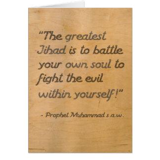 Tarjeta El Jihad más grande