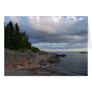 Tarjeta El lago Superior